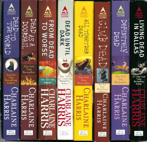Sookie Stackhouse 8-Copy Boxed Set - Charlaine Harris