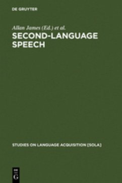 Second-Language Speech: Structure and Process (Studies on Language Acquisition, 13) (de Gruyter Expositions in Mathematics)