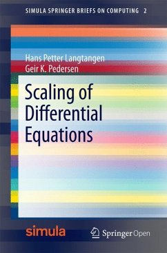 Scaling of Differential Equations