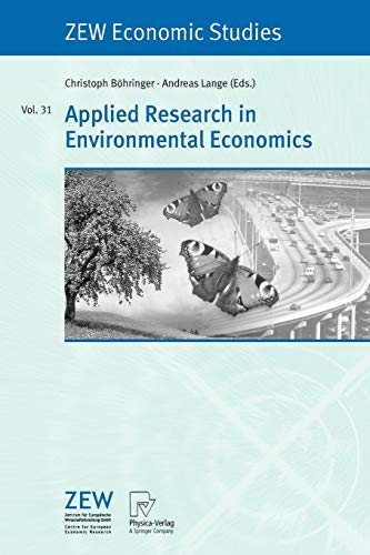 Applied Research in Environmental Economics - Christoph Bohringer