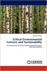 Critical Environmental Concern and Sustainability