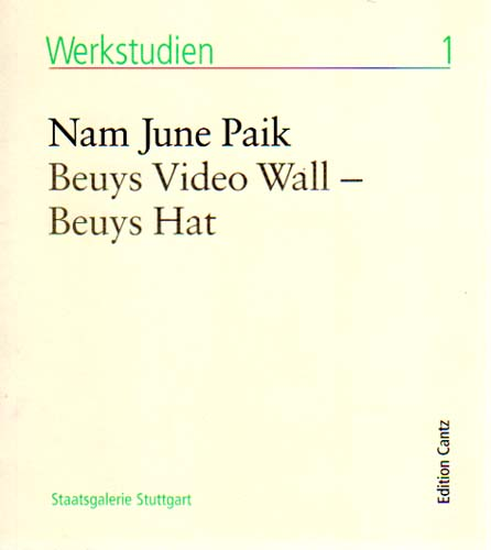 Beuys Video Wall - Beuys Hat, 1990. - Paik, Nam June - Ina Conzen-Meairs