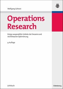 Operations Research (eBook, PDF) - Gohout, Wolfgang