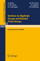 Seminar on Algebraic Groups and Related Finite Groups - Armand Borel; R. W. Carter; Charles Curtis; Nagayoshi Iwahori; T. A. Springer; Robert Steinberg