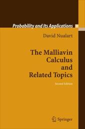 The Malliavin Calculus and Related Topics - Nualart, David / Nualart, D.