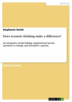 Does scenario thinking make a difference? - Smith, Stephanie