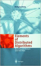Elements of Distributed Algorithms: Modeling and Analysis with Petri Nets
