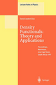 Density Functionals: Theory and Applications - Daniel Joubert