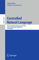Controlled Natural Language - Tobias Kuhn; Norbert E Fuchs