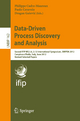 Data-Driven Process Discovery and Analysis - Philippe Cudré-Mauroux; Paolo Ceravolo; Dragan Ga#evic