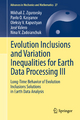 Evolution Inclusions and Variation Inequalities for Earth Data Processing III - Mikhail Z. Zgurovsky; Pavlo Kasyanov; Oleksiy V. Kapustyan; José Valero; Nina V. Zadoianchuk