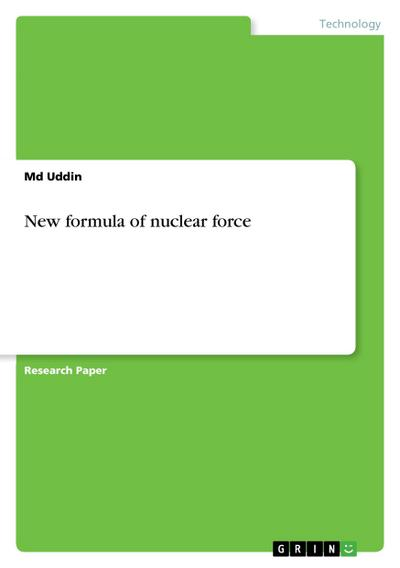 New Formular of Nuclear Force