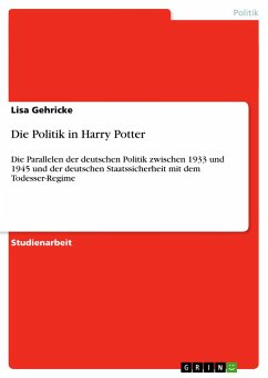 Die Politik in Harry Potter - Gehricke, Lisa