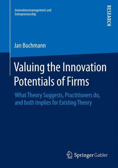 Valuing the Innovation Potentials of Firms - Jan Alexander Buchmann