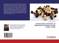 Nationalistic Activities of Lithuanian Germans in the 1920s-1930s