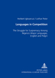 Languages in Competition - Herbert Igboanusi; Lothar Peter