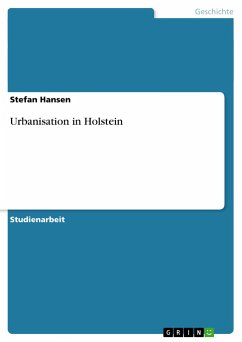 Urbanisation in Holstein - Hansen, Stefan