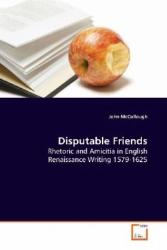 Disputable Friends - McCullough, John