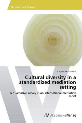 Cultural diversity in a standardized mediation setting - A qualitative survey in an international mediation moot