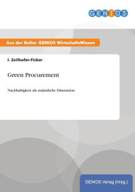 Green Procurement - I. Zeilhofer-Ficker