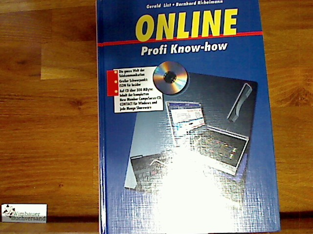 Profi- Know-how Online - List, Gerald und Bernhard Richelmann