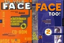 In Your Face: Best Interactive Interface Design (incl. CD-ROM) + In Your Face Too: More of the Best Interactive Interface Design (incl. CD-ROM) (SET) - Donnelly, Daniel