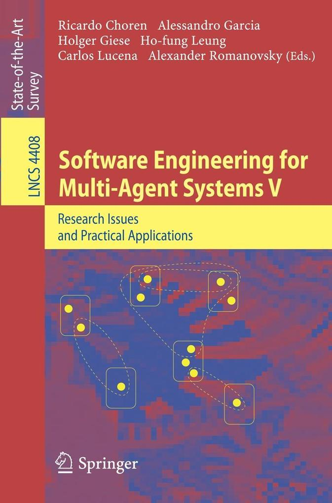 Software Engineering for Multi-Agent Systems V als Buch von
