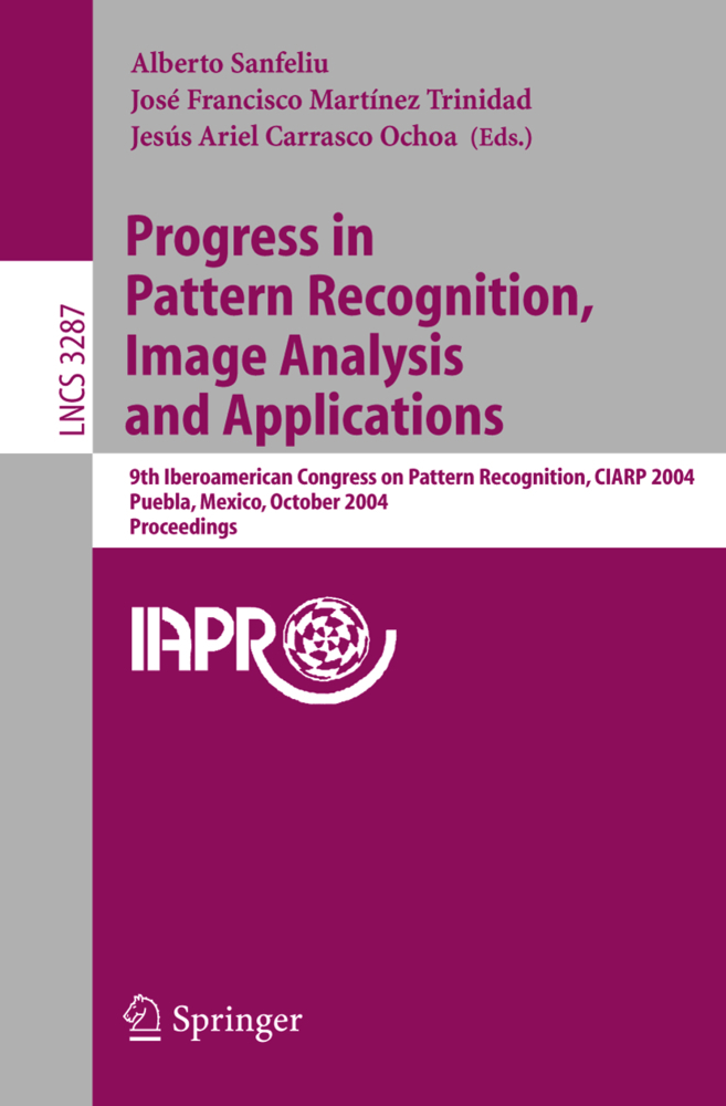 Progress in Pattern Recognition, Image Analysis and Applications