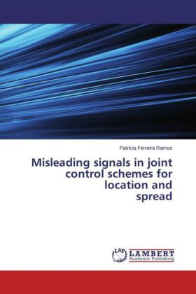 Misleading signals in joint control schemes for location and spread