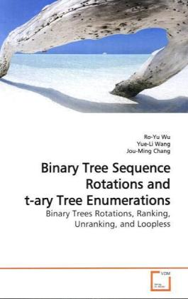 Binary Tree Sequence Rotations and t-ary Tree Enumerations - Binary Trees Rotations, Ranking, Unranking, and Loopless