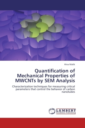 Quantification of Mechanical Properties of MWCNTs by SEM Analysis - Characterization techniques for measuring critical parameters that control the behavior of carbon nanotubes