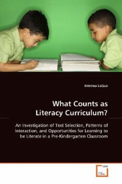 What Counts as Literacy Curriculum? - LaGue, Kristina