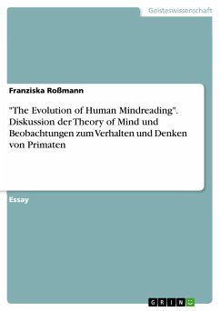 The Evolution of Human Mindreading