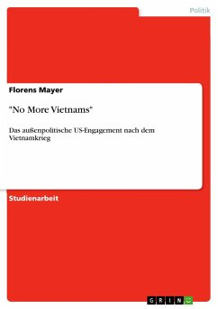 No More Vietnams - Mayer, Florens