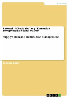 Supply Chain and Distribution Management