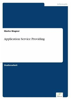 Application Service Providing - Wagner, Marko