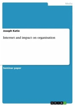 Internet and impact on organisation