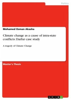 Climate change as a cause of intra-state conflicts: Darfur case study
