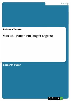 State and Nation Building in England