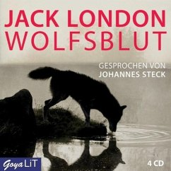 Wolfsblut, 4 Audio-CDs - London, Jack