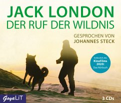 Der Ruf der Wildnis, 4 Audio-CDs - London, Jack
