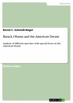 Barack Obama and the American Dream - Schmidt-Nagel, Bernd C.