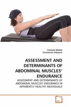 ASSESSMENT AND DETERMINANTS OF ABDOMINAL MUSCLES' ENDURANCE - Mbada, Chidozie Adeyemi, Oluwatosin