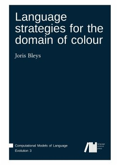 Language strategies for the domain of colour - Bleys, Joris
