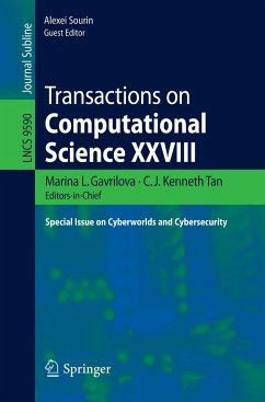 Transactions on Computational Science XXVIII - Herausgegeben von Gavrilova, Marina; Tan, C.J. Kenneth; Sourin, Alexei