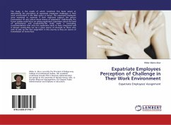 Expatriate Employees Perception of Challenge in Their Work Environment - Atieno Abur, Hilder