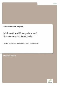 Multinational Enterprises and Environmental Standards - von Taysen, Alexander