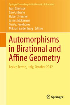 Automorphisms in Birational and Affine Geometry - Herausgegeben von Cheltsov, Ivan Ciliberto, Ciro Flenner, Hubert McKernan, James Prokhorov, Yuri G.
