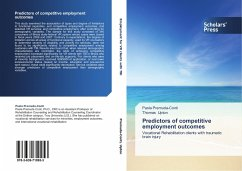 Predictors of competitive employment outcomes - Premuda-Conti, Paola Upton, Thomas