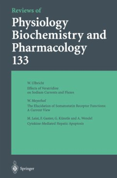 Reviews of Physiology, Biochemistry and Pharmacology - Blaustein, M. P. Greger, R. Grunicke, H. Jahn, R. Lederer, W. J. Mendell, L. M. Miyajima, A. Pette, D. Schult